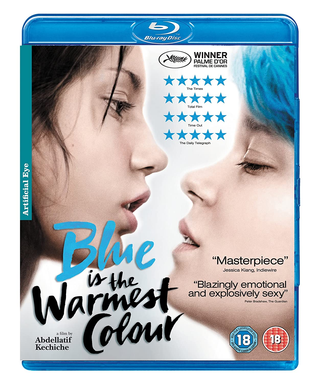 Blue Is The Warmest Color Criterion a young woman with blue