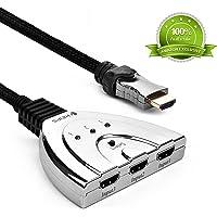 Kinps 3-Port HDMI Splitter