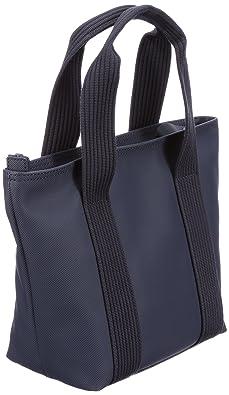 dd6529f3b0 *Info boutique Lacoste Small Shopping Bag Sac NF0368NC, Sac portés épaule  femme - Bleu-TR-H5-117, 22x23x12 cm (B x H x T) EU.