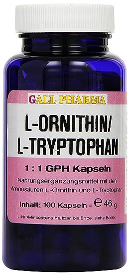 Gall Pharma L-Ornithin / L-Tryptophan 1:1 GPH Kapseln, 1er Pack (1 x 46 g)