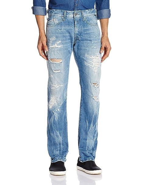 Replay Men's Slim Fit Jeans at amazon
