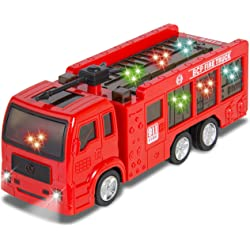 Fire Truck SKY2151 Electric Flashing Lights Kids Toy with Siren Sound
