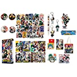 Boku No Hero Academia My Hero Academia Stickers Collectibles Looksee Box Gift Set MHA Stickers (Upgraded) (Color: upgraded)