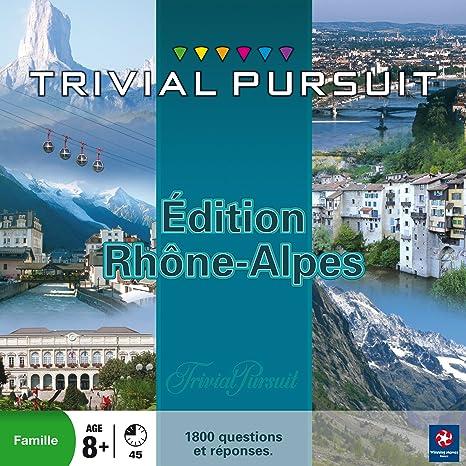Winning Moves - 0335 - Jeu de Société - Trivial Pursuit - Rhône Alpes