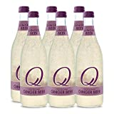 Q Drinks, Q Ginger Beer, Spectacular Ginger Beer, Premium Mixer, 500 ml Bottle (Case of 6)