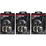 3M WorkTunes Connect Hearing Protector, Wired - 90541-80025T, 4 Pack