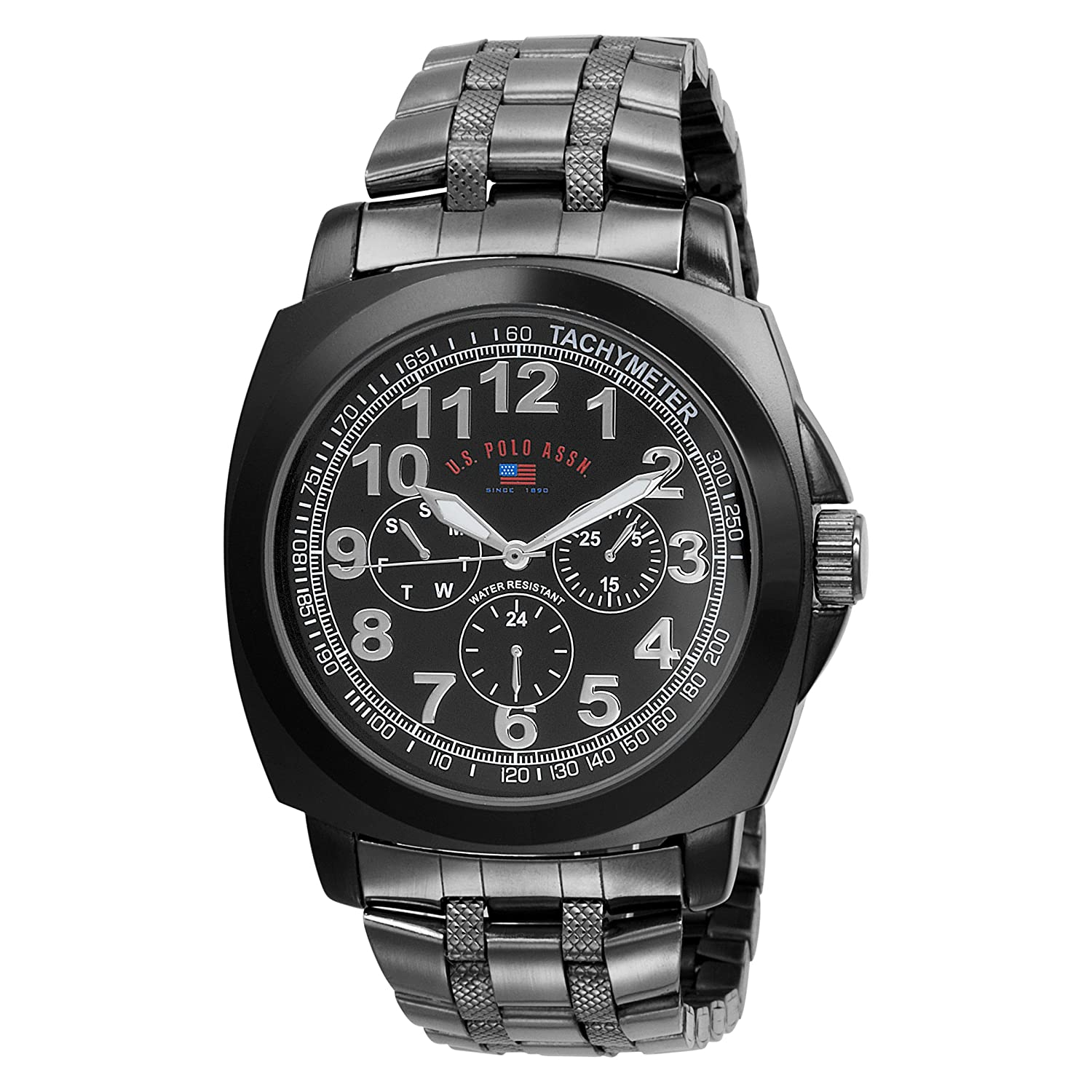 s watches u s polo assn s us8455exl black