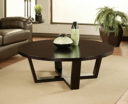 Samba Round Espresso Coffee Table