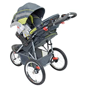 Baby Trend Expedition Jogger Stroller, Carbon (Color: Carbon, Tamaño: 1 Count)