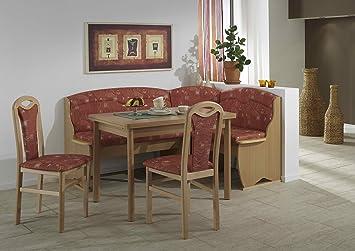 """Eckbankgruppe """" Tubingen """", variabel aufbaubar Essgruppe 2 x Stuhl"""