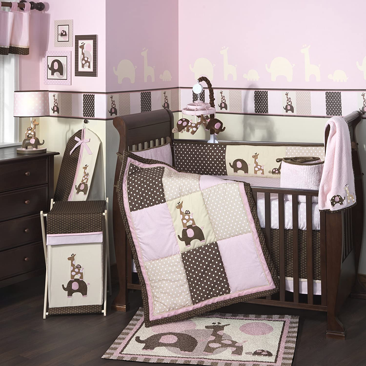 Lambs and Ivy Emma Crib Bedding Collection