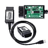 bbfly-BF32301 USB FTDI Chip OBD-II Scan Tool for Windows Auto Diagnostic Scanner OBD2