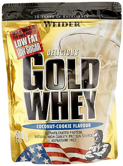 Weider Gold Whey Beutel Doppelpack (2 x 500 g) Kokos-Cookie, 1er Pack (1 x 1 kg)