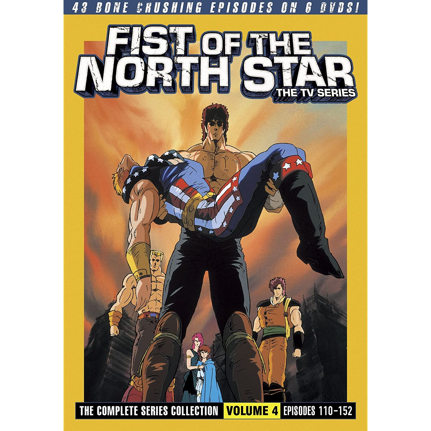 Fist Of The North Star First Series Characters: Fist Of The North Star (TV): The Complete Series