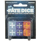 Fate Core Dice: Winter Knight