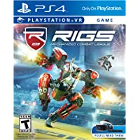 RIGS Mechanized Combat League for PlayStation 4