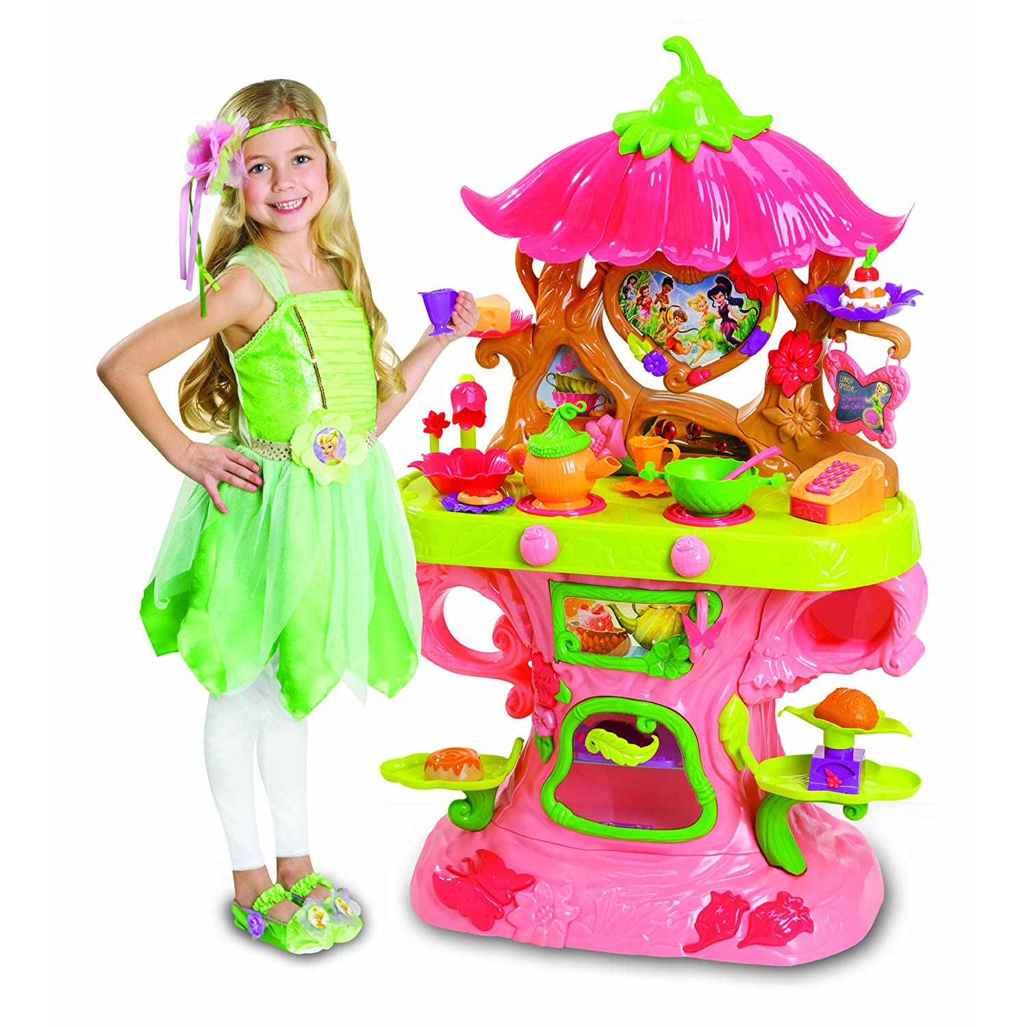 Click to buy Disney Fairies Tinker Bell Talking Café from Amazon!