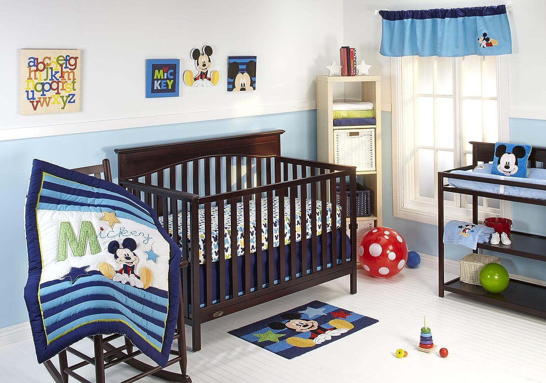 Disney My Friend Mickey Crib Bedding