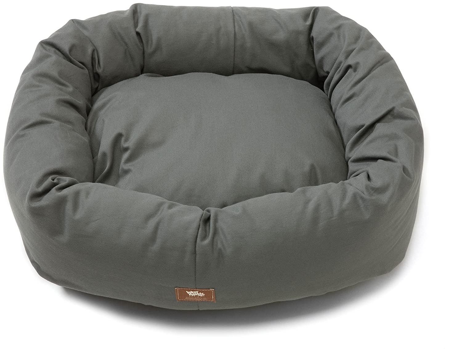 West Paw Design Bumper Bed Stuffed Dog Bed