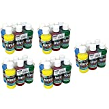 22-4806 Sargent Art Primary Acrylic Paint Set, 4 Ounce, 6-Pack (5_Pack) (Color: 5_Pack)