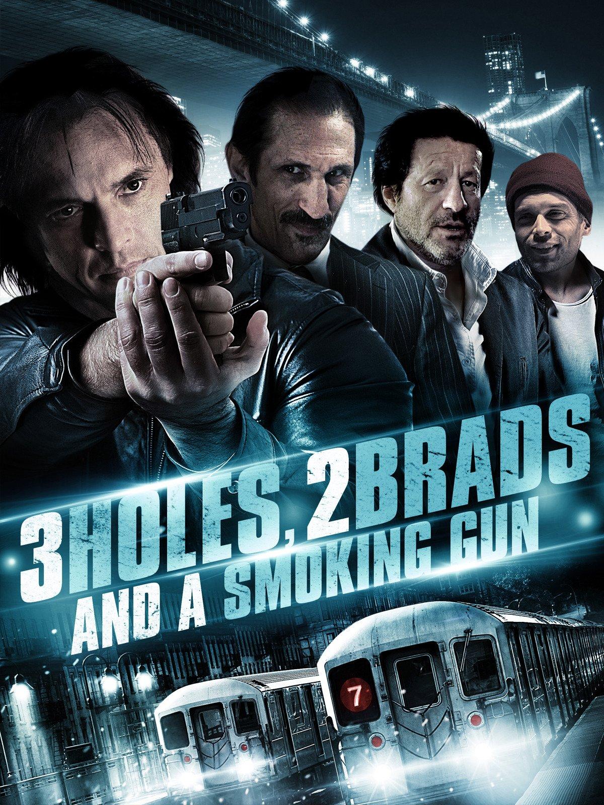 3 Holes, 2 Brads, and a Smoking Gun