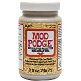 Mod Podge CS17292 Mega, 8 oz. , Gold Glitter (Color: Gold Glitter, Tamaño: 8 oz)