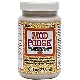 Mod Podge CS17292 Mega, 8 oz. , Gold Glitter (Color: Gold Glitter, Tamaño: 8 oz)