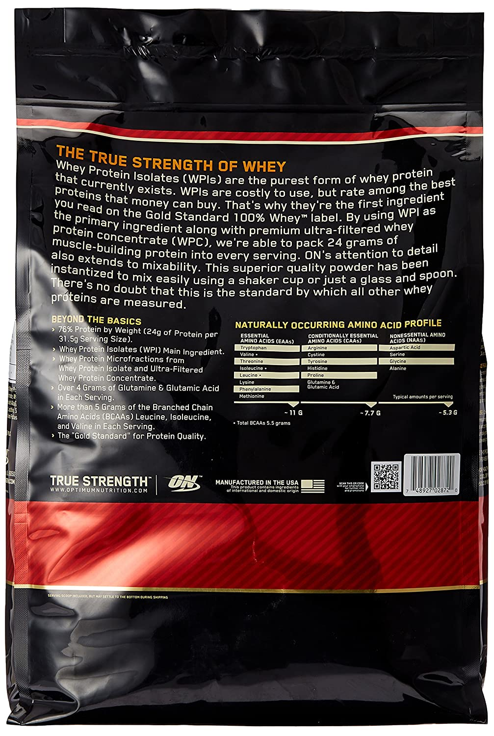 ON Whey Gold Standard - 10 lb Rocky Road
