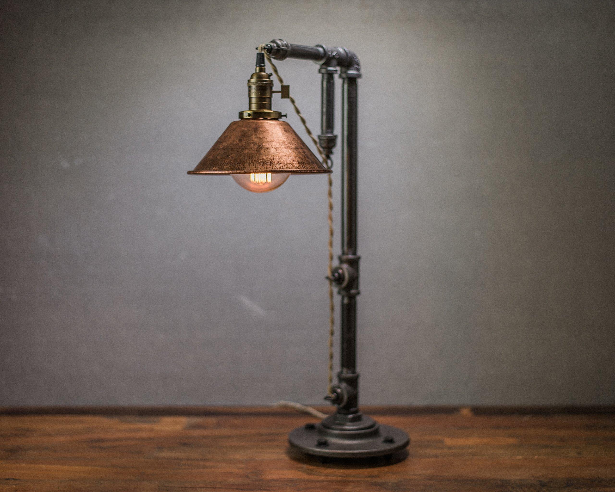 Industrial Style Table Lamp Pendant Edison Bulb Copper