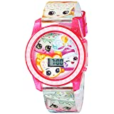 Shopkins Watch with Fairy Crumbs, Sneaky Wedge and Ice Cream Kate Quartz Casual Watch (Model:KIN4109)