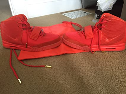 Amazon.com : Nike Air Yeezy 2 \'\'Red October\'\' : Sports & Outdoors
