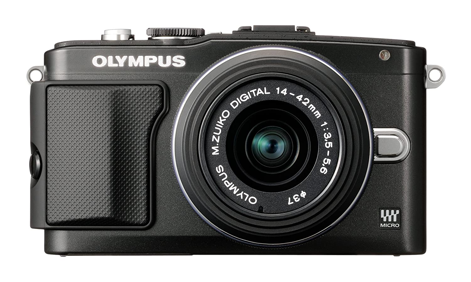 Digital Cameras OLYMPUS EPL5 BLACK 16MPIXELS KIT 14-42MM