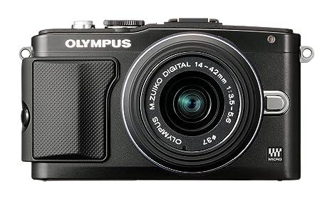 Olympus E-PL5 Black + EZ-M1442 II R 17.2 Mpix Black kit, V205041BE000 (17.2 Mpix Black kit)