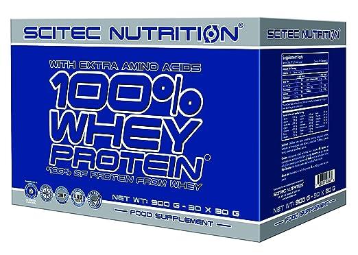 Scitec Nutrition 100% Whey Protein 30x30g Milchschokolade