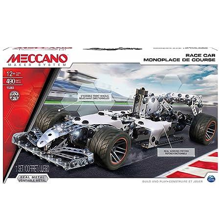 Meccano - 6028469 - Monoplace De Course - 518 Pièces