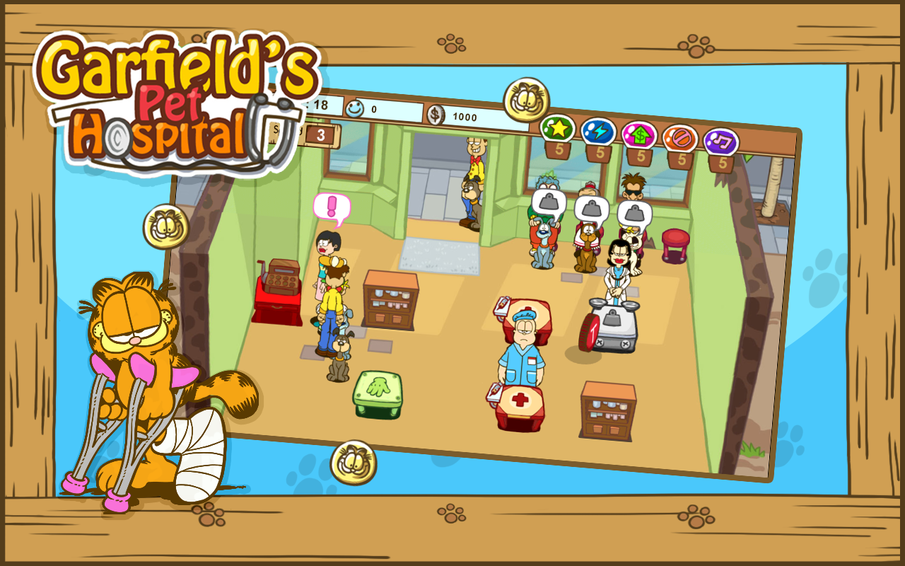 Amazon.com: Garfield's Pet Hospital: Appstore for Android