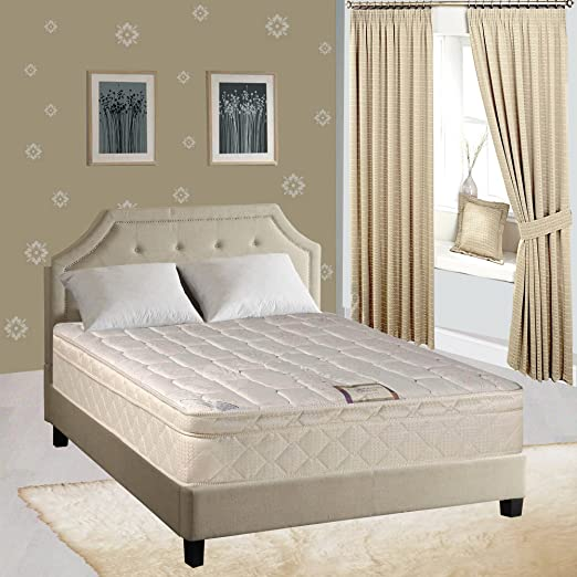 "Continental Sleep Mattress, 9"" Gentle Firm Pillowtop Fully Assembled Othopedic Queen Mattress,Elite Collection"