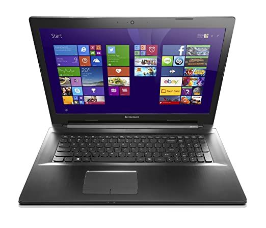Lenovo Z70 17.3 Inch Laptop Intel Core i7, 16 GB, 1TB HDD, Black - Free Upgrade to Windows 10