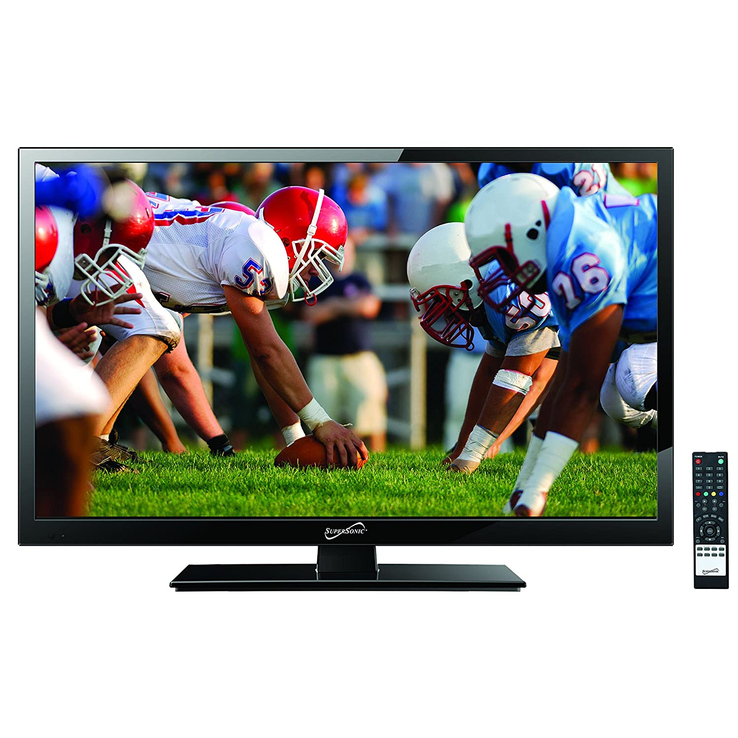 SuperSonic 24-Inch 1080p LED Widescreen HDTV with HDMI AC/DC Compatible SC-2411