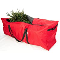 Elf Stor Rolling Christmas Tree Storage Bag (Red)