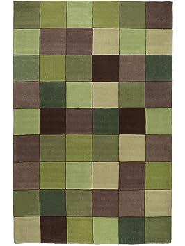 benuta tapis de salon salon moderne eden pixel pas cher cher vert 120x180 cm sans. Black Bedroom Furniture Sets. Home Design Ideas