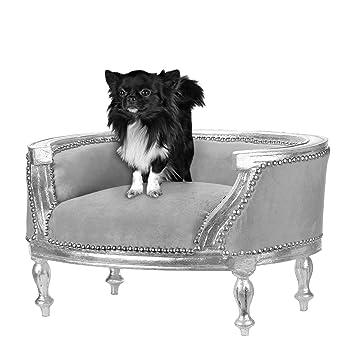 """'""""richmania Prince & Princess–maestoso cane letto–Divano per cani–Gatti–Gatti divano Argento/Grigio"""