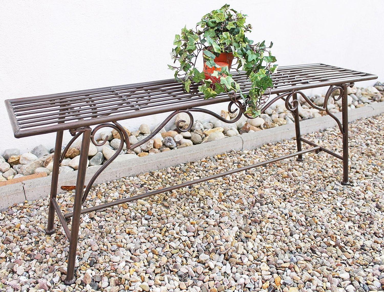 """Bank Sitzbank """"CUCCIO-XL"""" B-120cm 77824 Gartenbank aus Metall Gartenmöbel jetzt kaufen"""