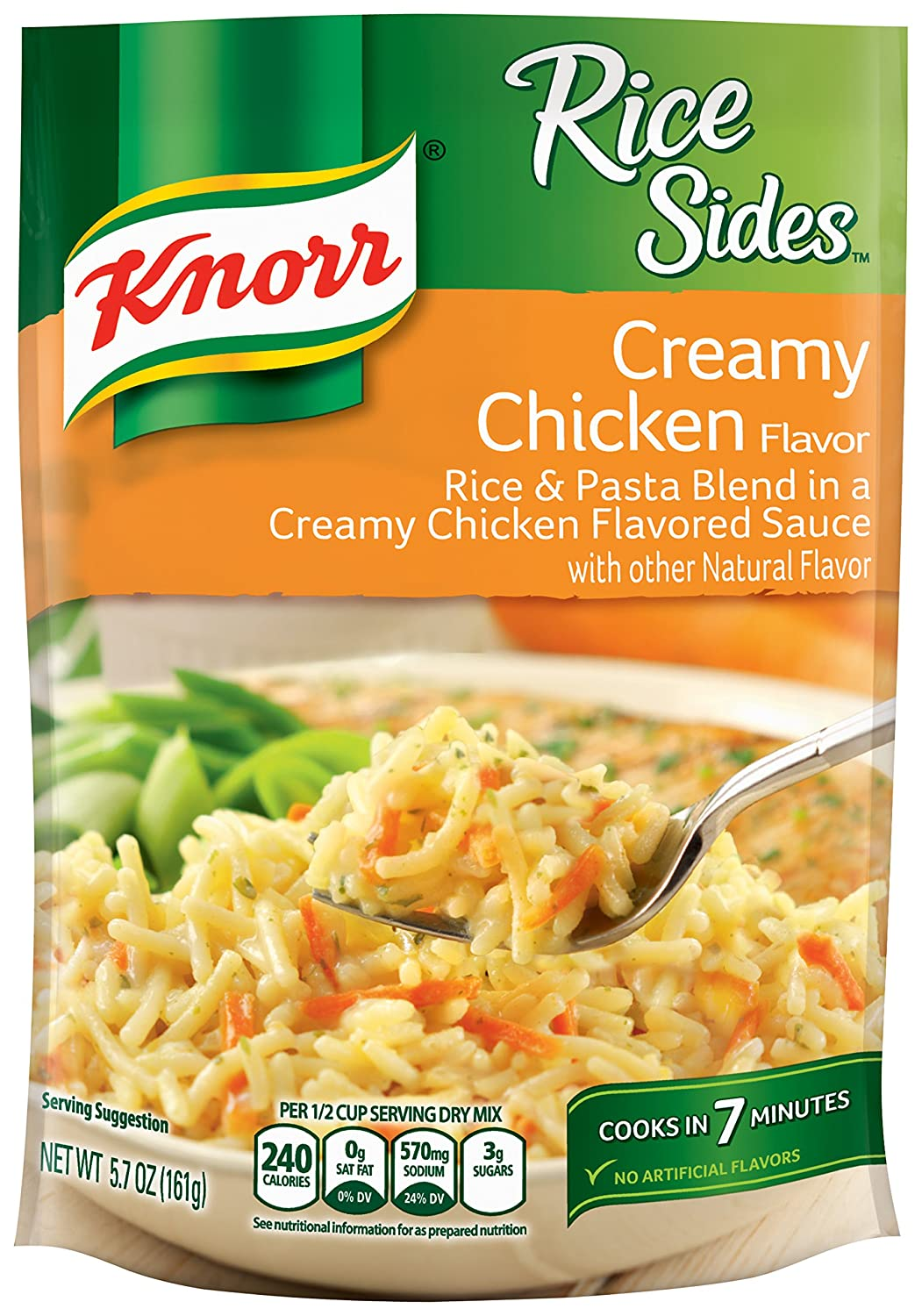 Knorr Rice Sides, Creamy Chicken, 5.7 Ounce