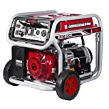 A-iPower 12,000-Watt Gasoline Powered Electric Start Generator With GFCI Outlets (Color: red)