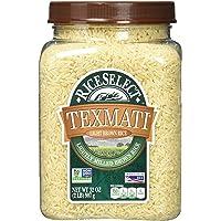 4-Pack RiceSelect Texmati Light Long Grain American Basmati Brown Rice 32-Ounce Jars
