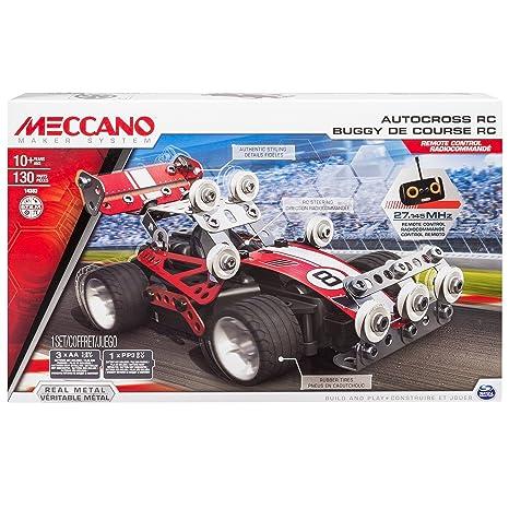 Meccano - 6026720 - Jeu de Construction - Buggy de Course Radiocommandé