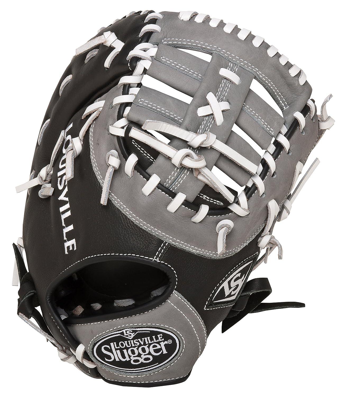 Louisville Slugger 33cm FG Omaha Select Erste basemans Pad, Schwarz/Grau, rechte Hand Überwurf online kaufen