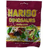 Haribo Dinosaurs Gummy Candy (5 oz Bag) (Tamaño: 5 Ounces)