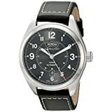 Hamilton Men's H70505733 Khaki Field Analog Display Automatic Self Wind Black Watch